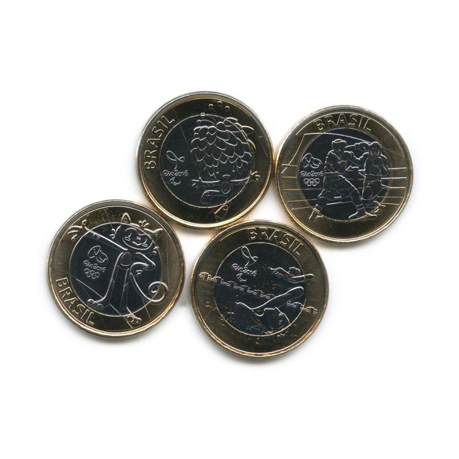 Набор монет 1 реал - Олимпийские Игры, Рио-де-Жанейро 2016 2016 года (Бразилия)