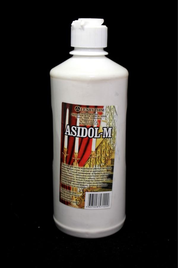 Средство для чистки металла «Asidol-M» (масса 600 мл) 2015 года (Россия)