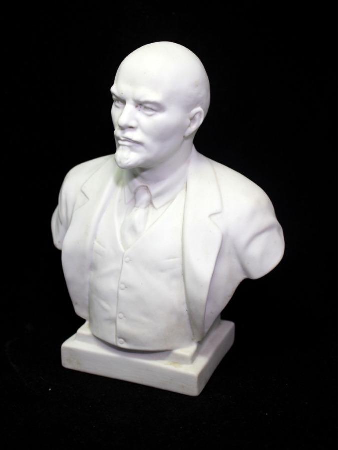 Бюст «В. И. Ленин» (фарфор, 18 см)