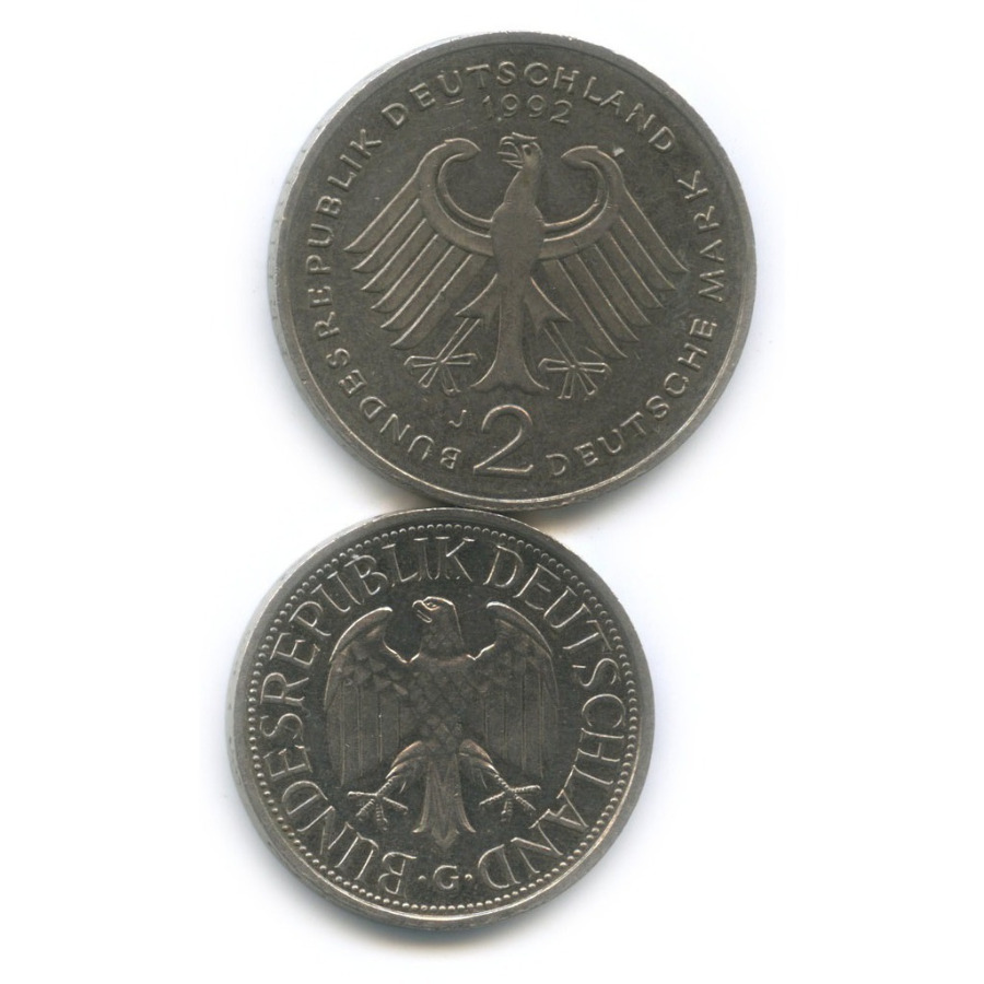 Набор монет 1979, 1990 (Германия)
