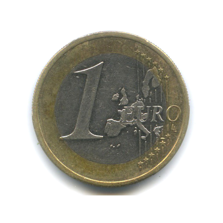 1 евро 2002 года A (Германия)