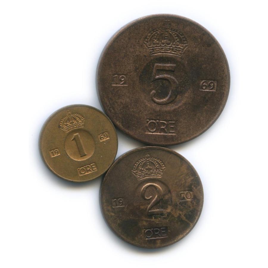 Набор монет 1969, 1970 (Швеция)