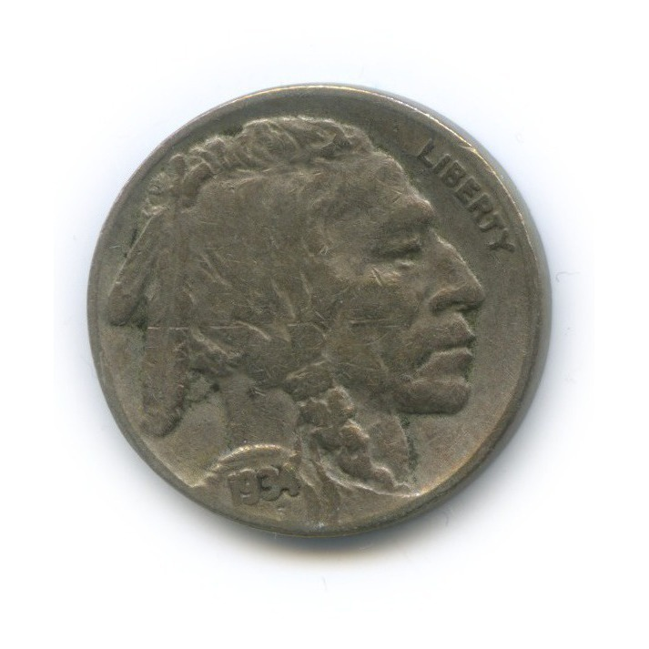 5 центов 1934 года D (США)