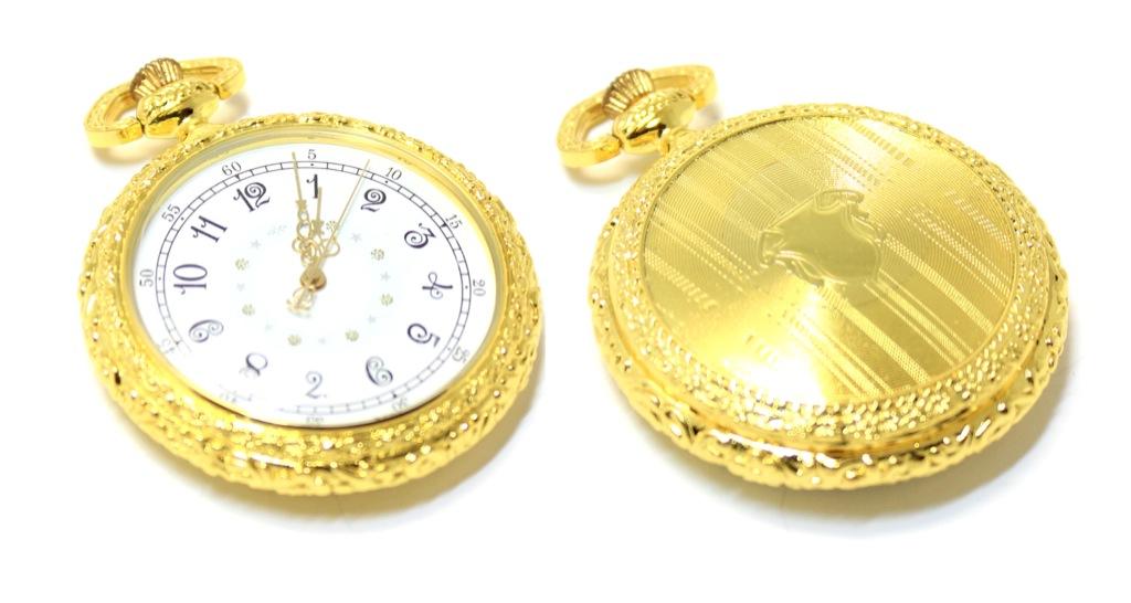 Коллекционные карманные часы (диаметр 4,5 см, рабочие) 2013 года (Россия)