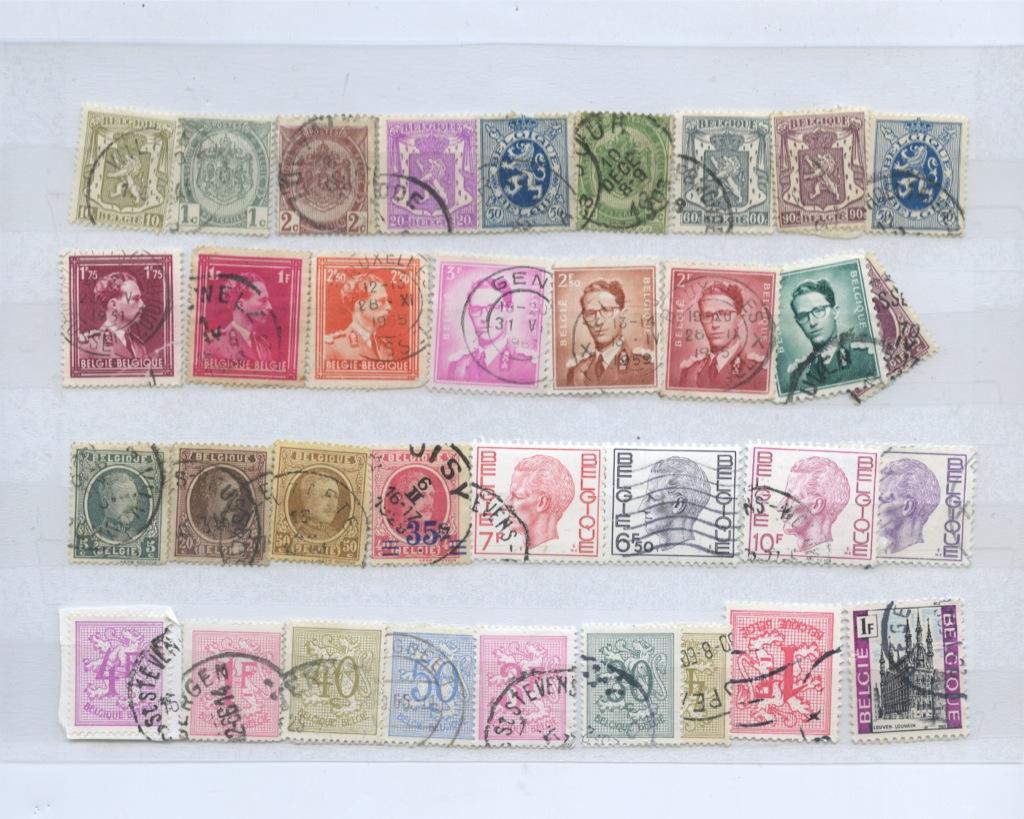 Набор почтовых марок (Бельгия)
