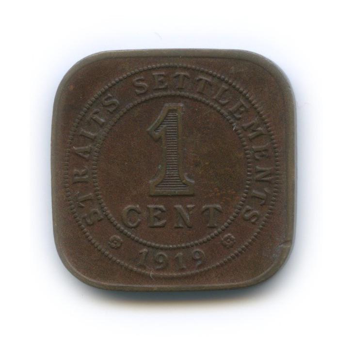 1 цент, Стрейтс-Сетлментс 1919 года