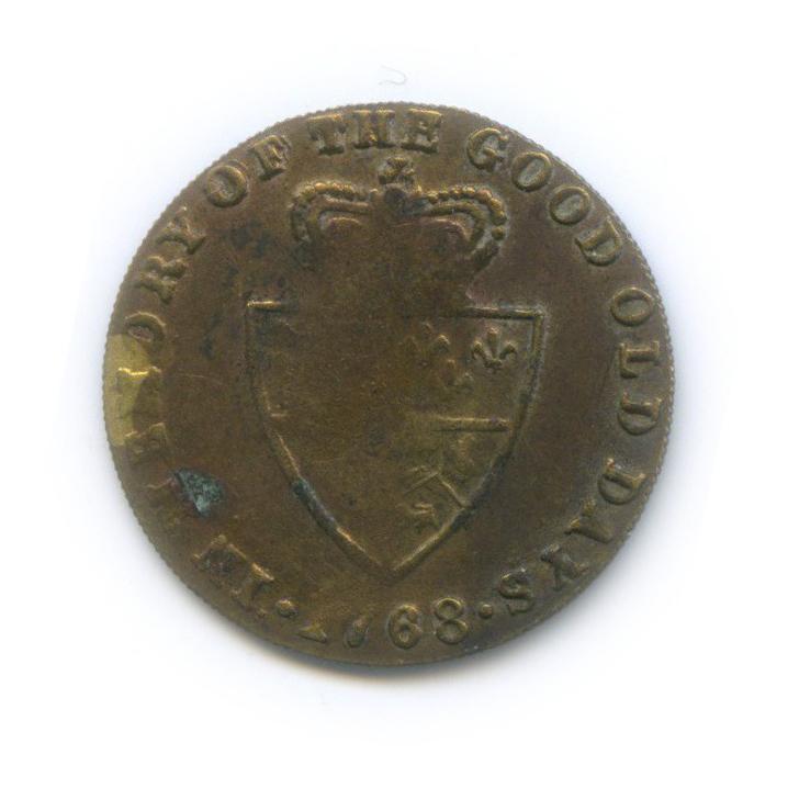 Жетон игральный «1/2 гинеи 1788, Великобритания»