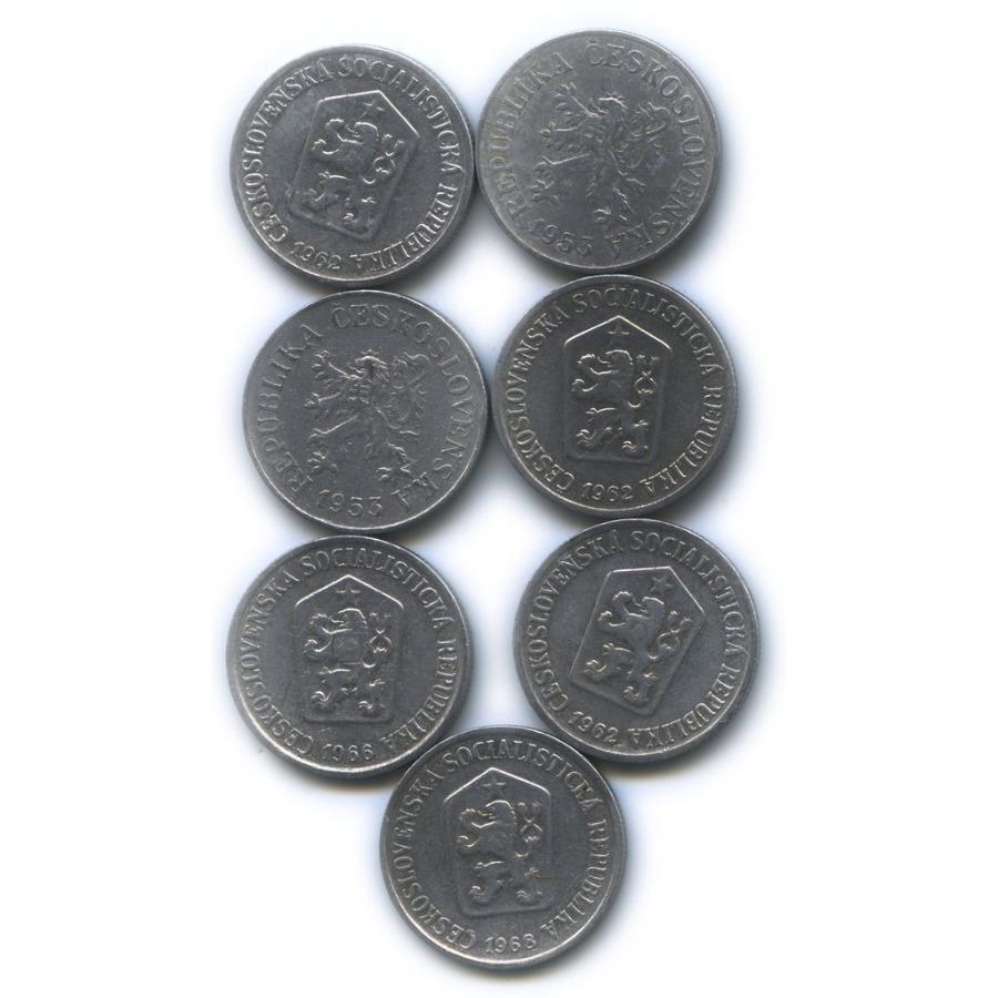Набор монет 10 геллеров (Чехословакия)