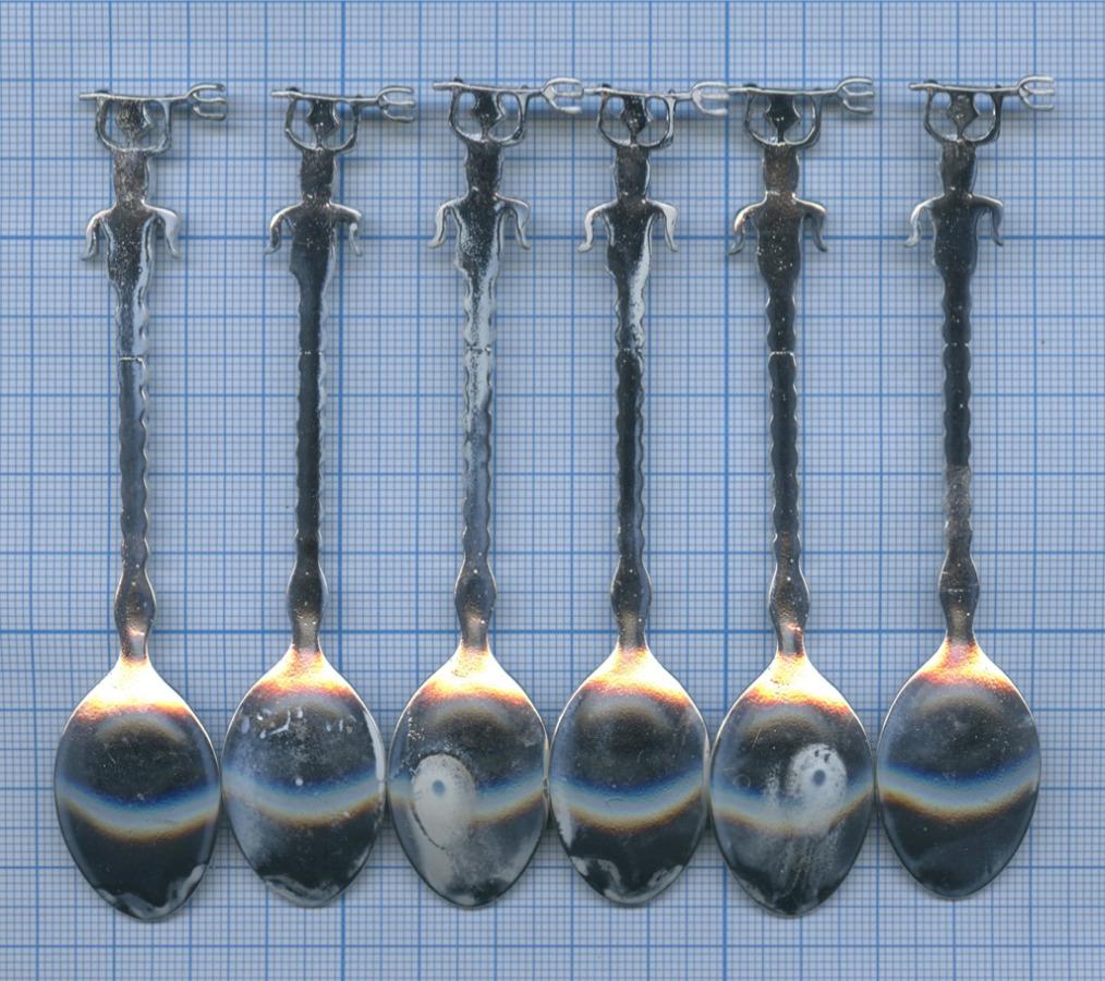 Набор кофейных ложечек (10,5 см)