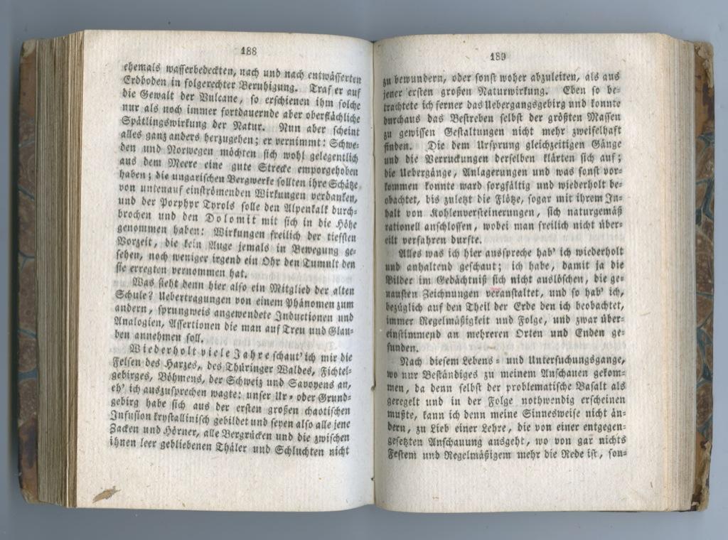 Книга Гете «Nachgelassene Werke» (190 стр.) 1833 года (Германия)