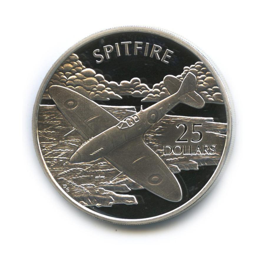 25 долларов - Истребитель «Spitfire», Соломоновы острова 2003 года