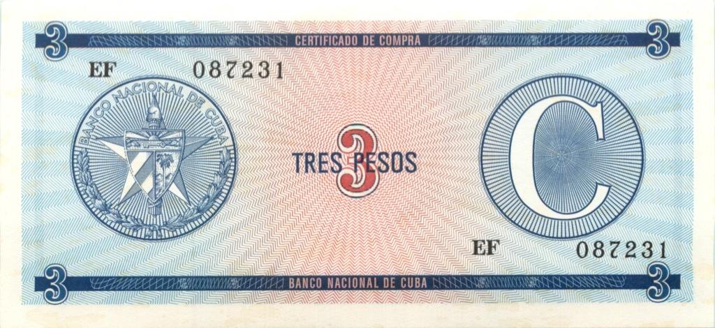 3 песо (Куба)
