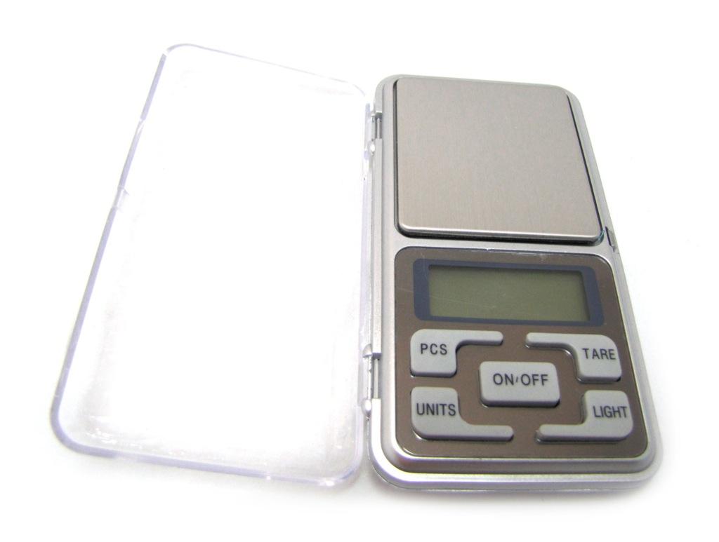 Весы электронные «Pocket Scale», без батареек (500гр/0.1 гр)