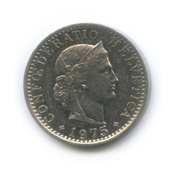 20 раппен 1975 года (Швейцария)