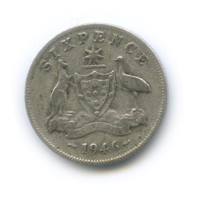 6 пенсов 1946 года (Австралия)