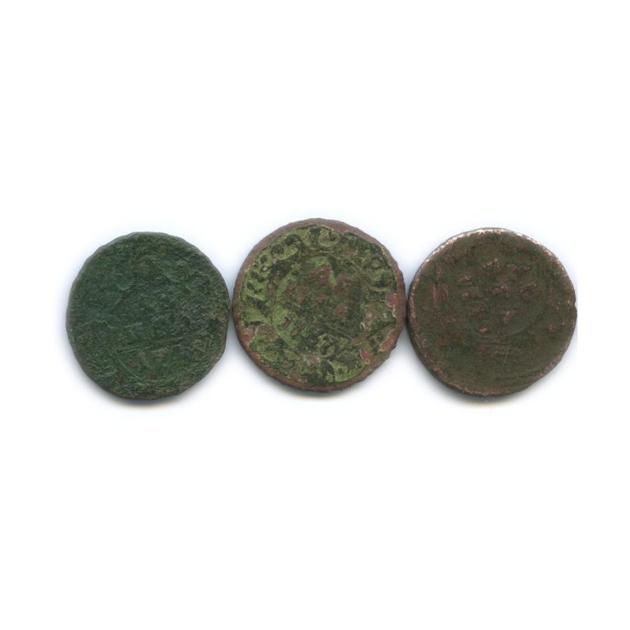 Набор монет денга (1/2 копейки) - Екатерина II (Российская Империя)