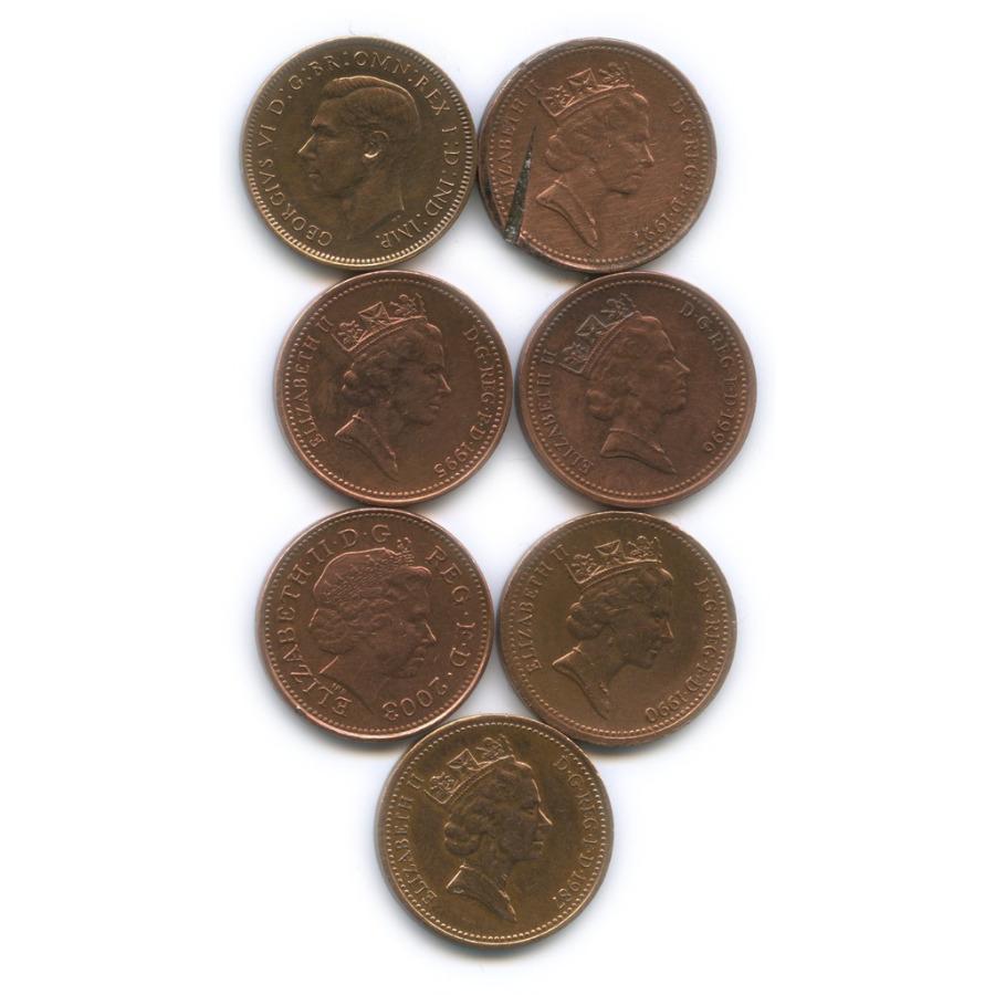 Набор монет 1 фартинг, 1 пенни (Великобритания)