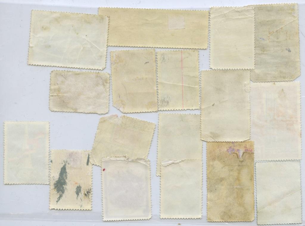 Набор почтовых марок (разные страны), 17 шт.
