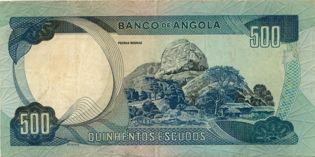 500 эскудо (Ангола) 1972 года