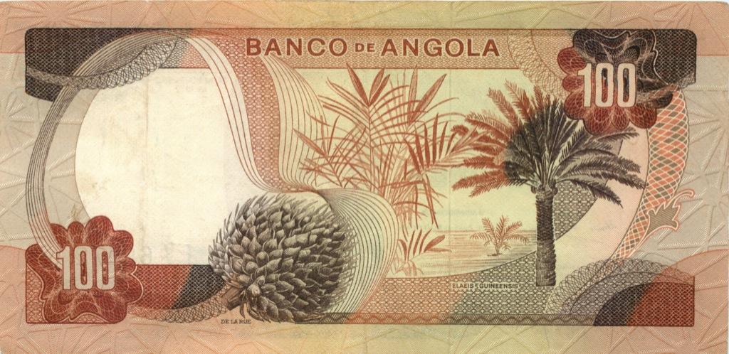 100 эскудо (Ангола) 1972 года