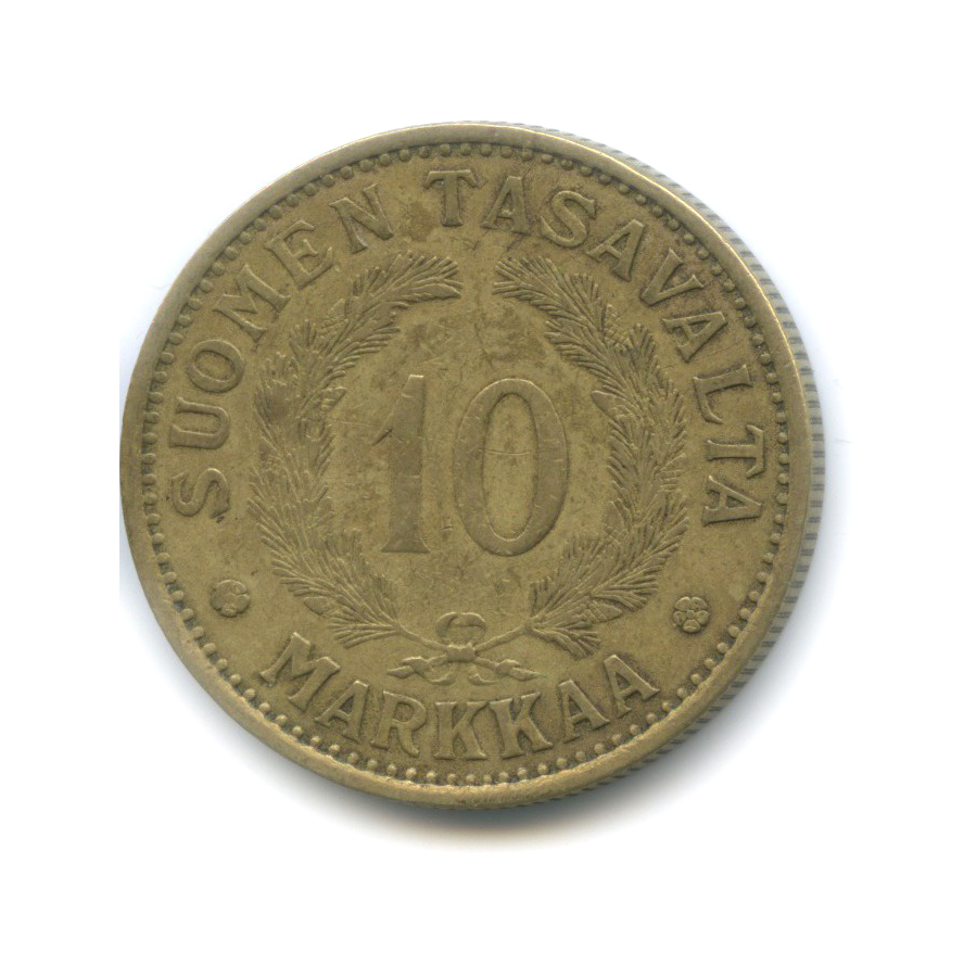 10 марок 1930 года (Финляндия)