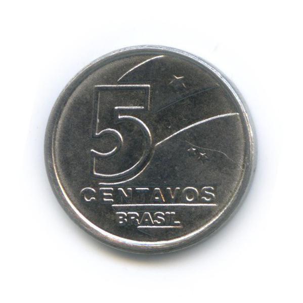 5 сентаво 1989 года (Бразилия)