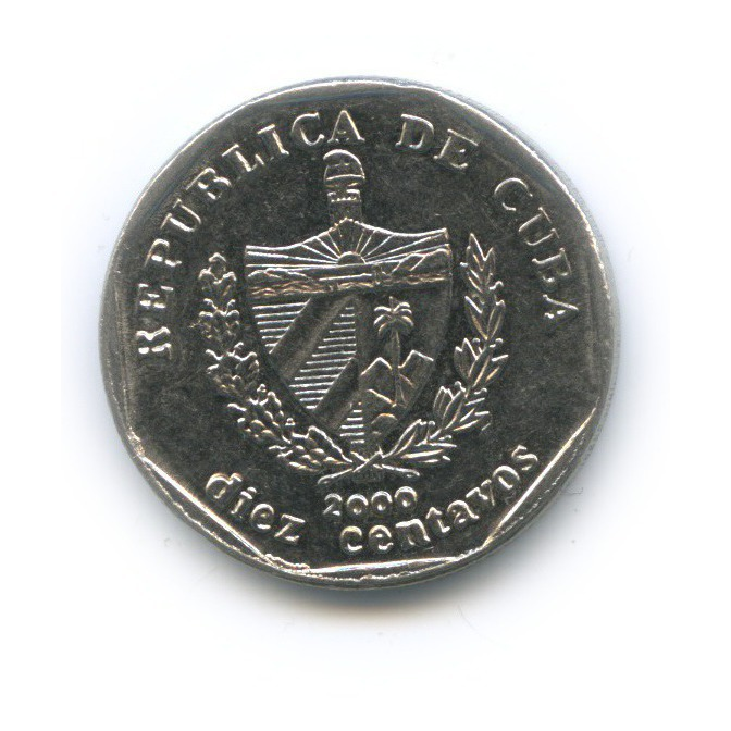 10 сентаво 2000 года (Куба)