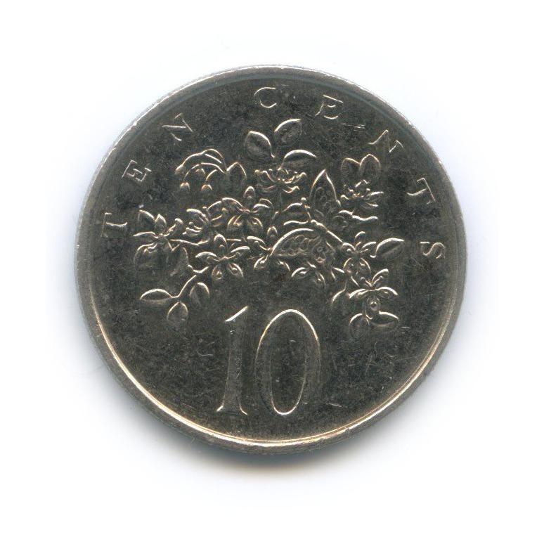 10 центов 1989 года (Ямайка)