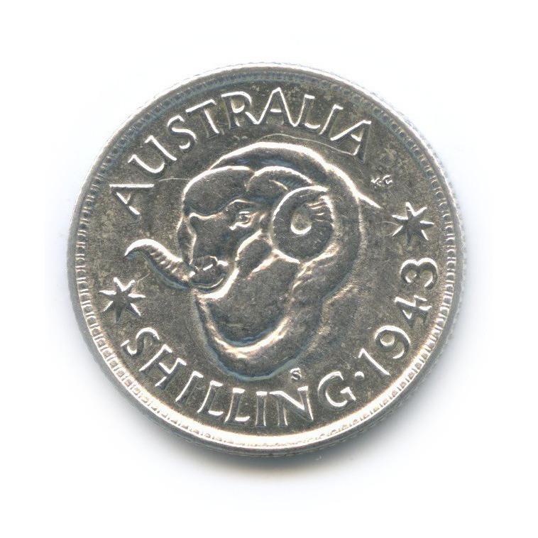 1 шиллинг 1943 года S (Австралия)