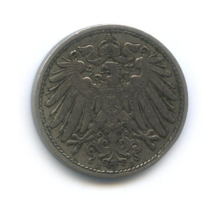 10 пфеннигов 1911 года J (Германия)