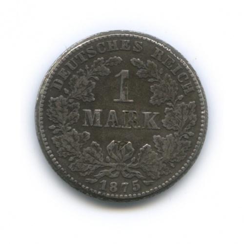 Жетон «1 марка 1875, Германия» (копия)
