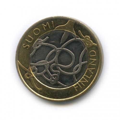5 евро — Исторические регионы Финляндии - Тавастия 2011 года (Финляндия)