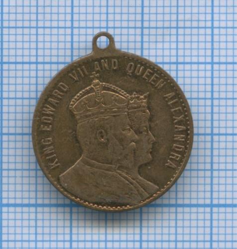 Медаль «King Edward VII and Queen Alexandra» / «Crowned 26. June 1902» (Великобритания)
