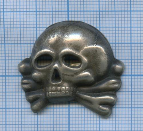 Кокарда СС «Мертвая голова» - реплика (Германия (Третий рейх))