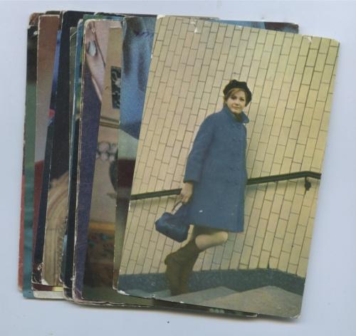Набор открыток «Артисты» (20 шт., вконверте) (СССР)