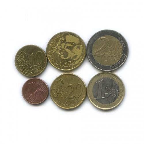 Набор монет 2002, 2005 (Германия)