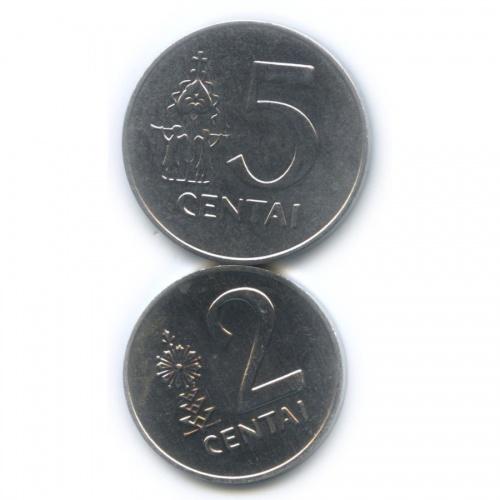 Набор монет 1991 года (Литва)