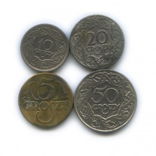 Набор монет 1923 года (Польша)