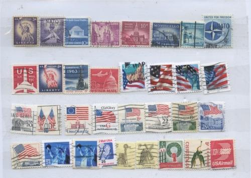 Набор почтовых марок (США)