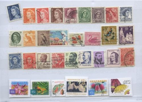 Набор почтовых марок (Австралия)