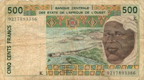 500 франков (Западная Африка)