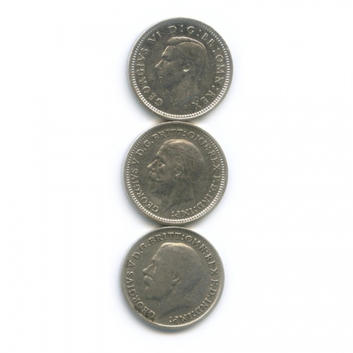 Набор монет 3 пенса (Великобритания)