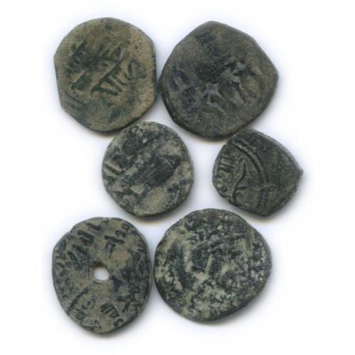 Набор монет фельс, династия Омейяды, Исламская Испания, Андалусия 711-1492 (Испания)