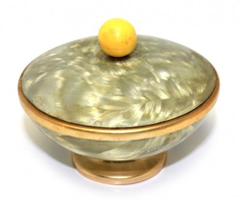 Шкатулка (металл, диаметр 8,5 см)