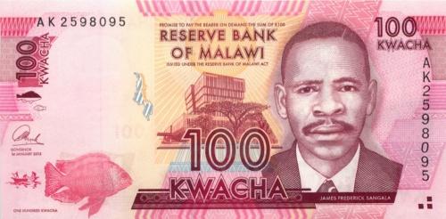 100 квача (Малави) 2013 года