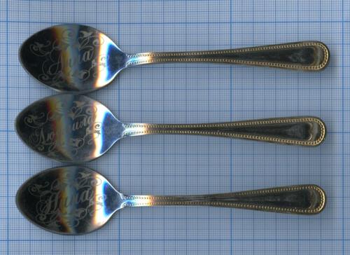 Набор чайных ложек сименами (14 см) (Россия)