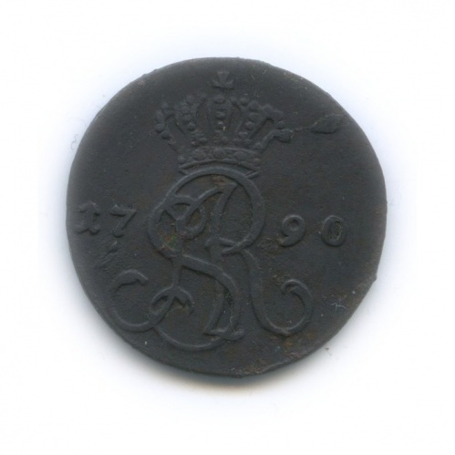 1 грош - Станислав Август, Речь Посполитая 1790 года