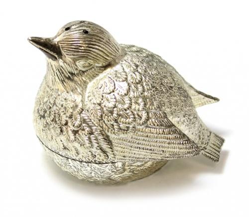 Солонка «Птица» (металл, 6 см)