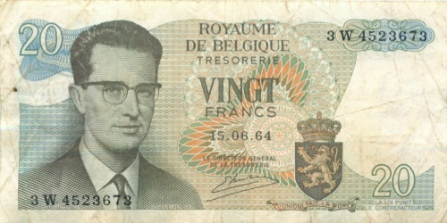 20 фанков 1964 года (Бельгия)