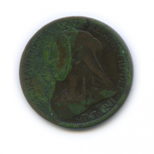 1 пенни 1900 года (Великобритания)
